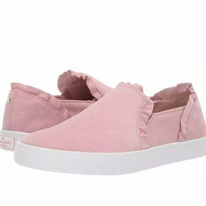 Kate Spade Pink New York Lilly Suede Sneakers 8.5